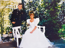 "Photo courtesy of the U.S. Army Chief Warrant Officer 2 Lawrence ""Shane"" Colton and Inge Colton on their wedding day May 5, 1995, at Landstuhl, Germany. Colton was an attack helicopter pilot assigned to the Army's 1st Battalion, 227th Aviation Regiment, 1st Cavalry Division at Fort Hood, Texas, who was shot down April 11, 2004, in Baghdad, Iraq. Inge Colton and other spouse survivors will be honored on Gold Star Spouse Day April 5."