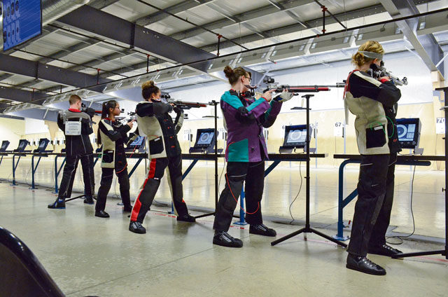 Kaiserslautern High School AFJROTC Marksmanship team scores big