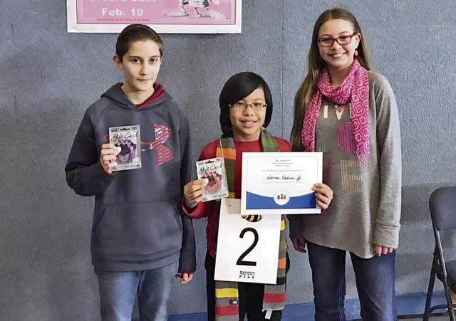 RMS congratulates spelling bee winners