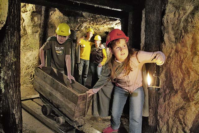 Imsbach Mining World offers guided tours in English