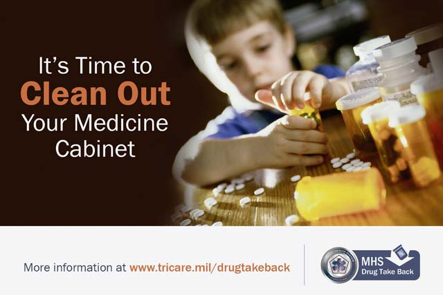Drug Take Back, April 29 — Time for a medicine cabinet spring clean