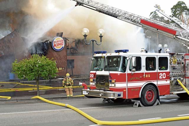 Never off duty: Ramstein Airmen extinguish fire