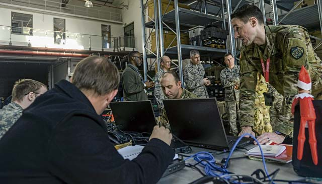 Airmen, Soldiers secure cyber domain