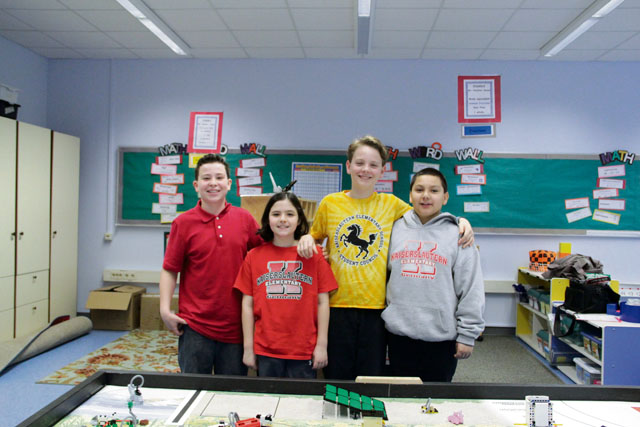 Kaiserslautern Elementary School First Lego League competition