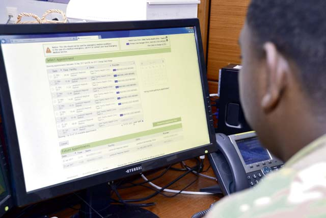 LRMC, Army clinics' phone wait times increase — Save time, schedule appointments online