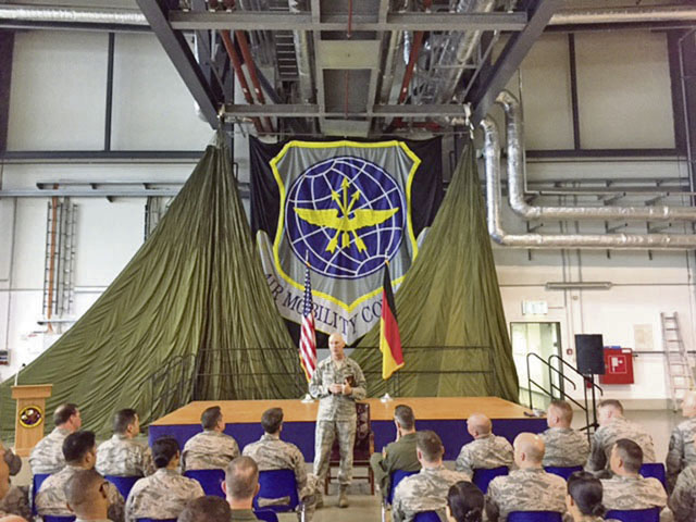 521st Air Mobility Operations Wing hosts PDS