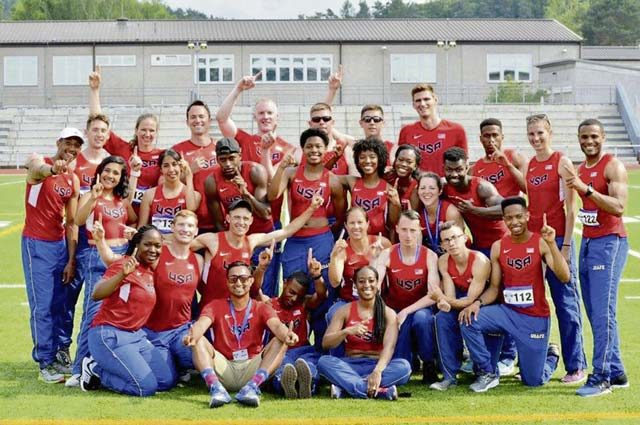 Ramstein hosts AIRCOM track and field championship
