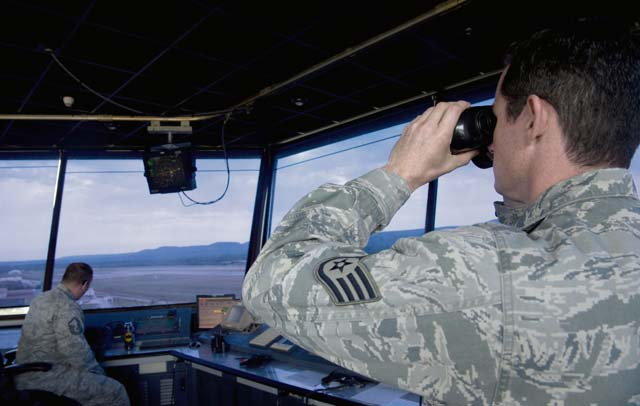 Eyes on the sky keep airfield traffic safe