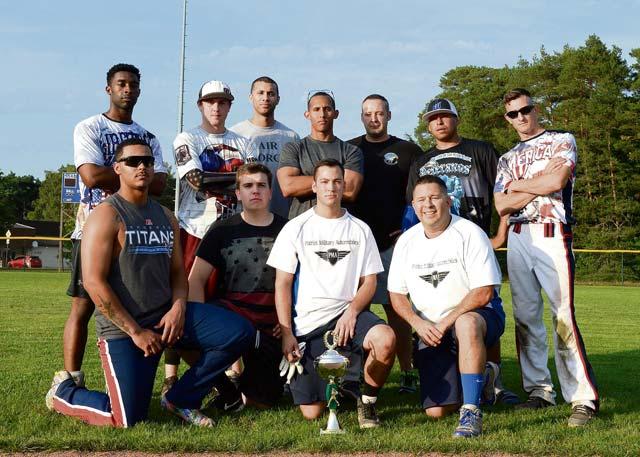 86th MXS wins intramural softball championship