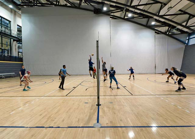 RAB Women's Volleyball Team finishes tryouts