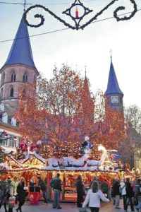 Christmas markets offer holiday shopping, entertainment