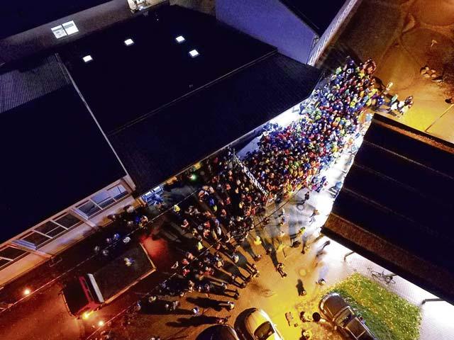 Rodenbach club sponsors torch run