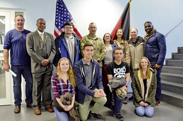 USAG RP receives energy lesson from Green Boot experts