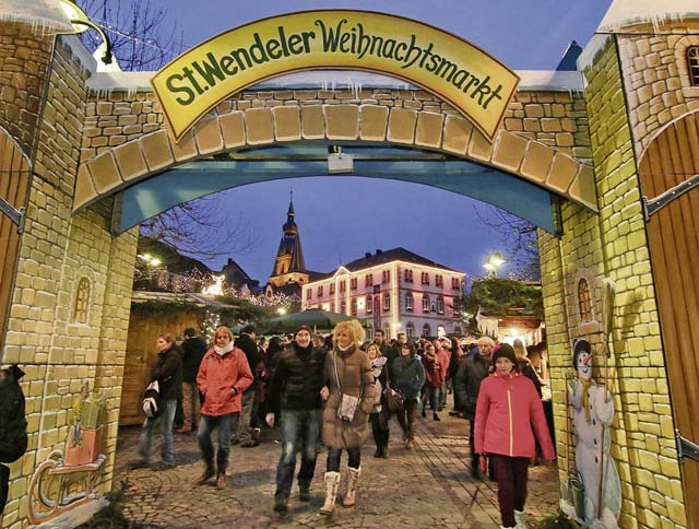 Sankt Wendel combines tradition with medieval market