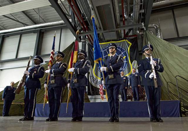 Putting the honor in Ramstein Honor Guard