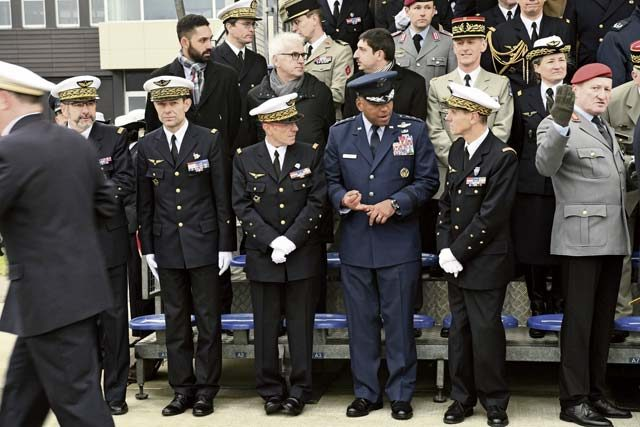 3rd AF commander attends inaugural French C-130J ceremony