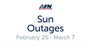 Sun interference causes AFN TV and radio outages