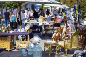 Flea markets — hunting for treasures