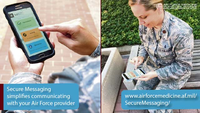 Secure Messaging makes communicating with your Air Force doctor simple