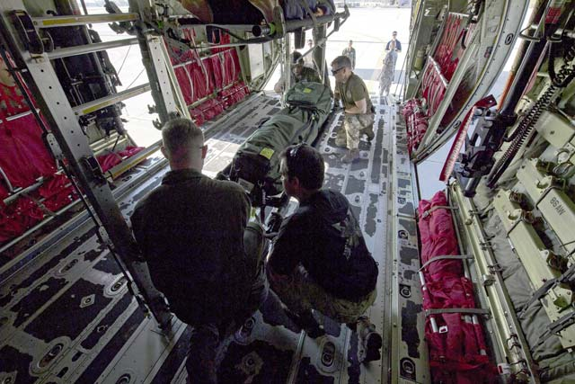 86th AES exercises joint aeromedical evacuations