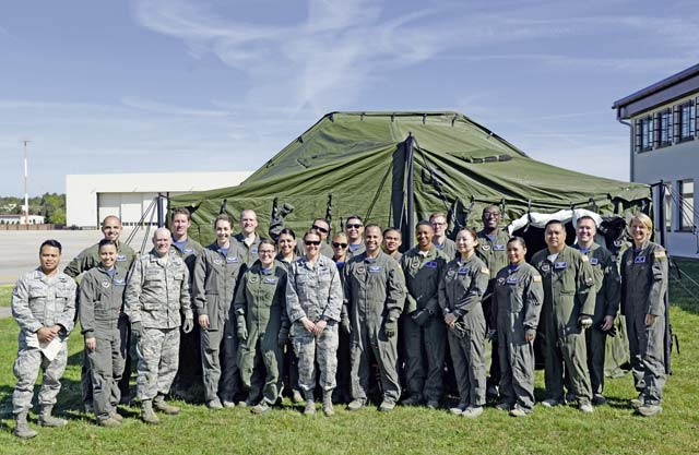 86th AES exercises deployment readiness