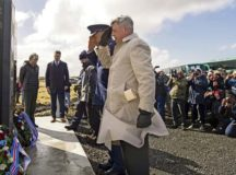 US, Iceland remember WW II heroes with monument dedication