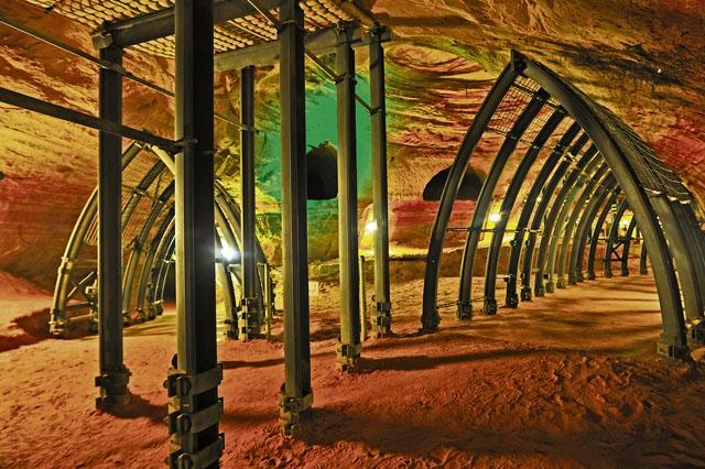 Europe's Biggest Sandstone Cave: Schlossberghöhlen Homburg
