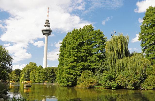 Hidden oasis –  Luisenpark Mannheim