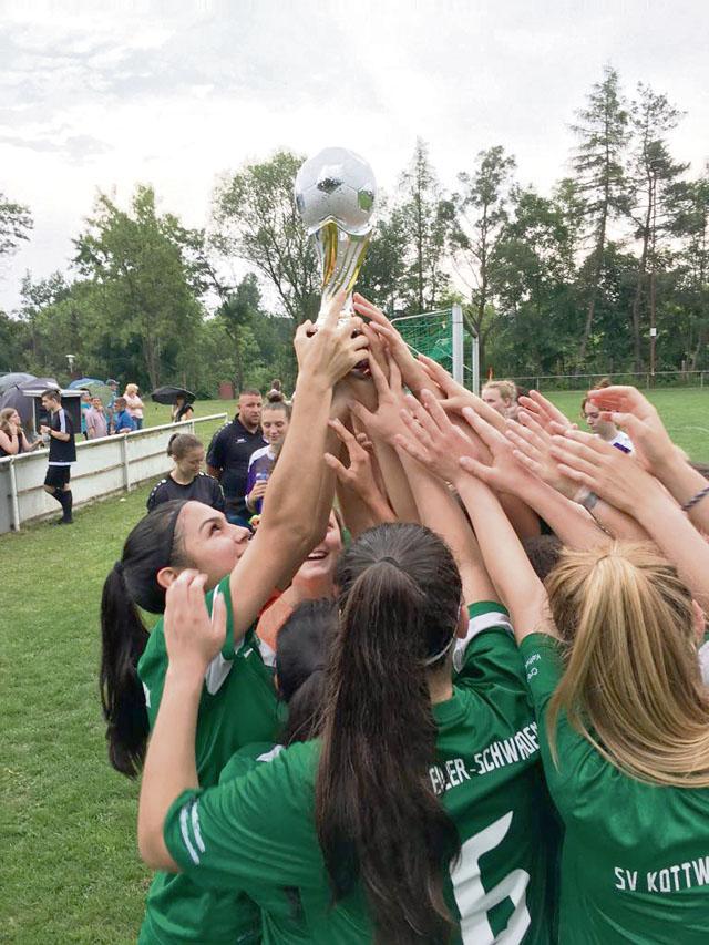SVK Womens II win Bezirksliga Westpfalz League Championship