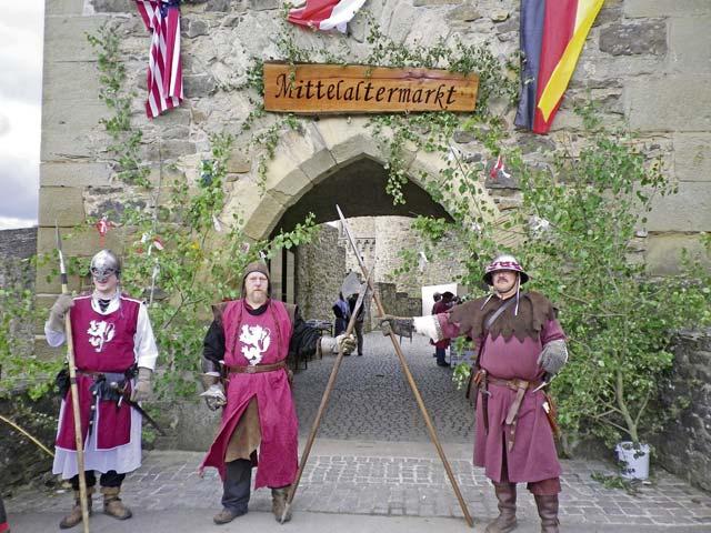 Medieval summer market takes place at Lichtenberg Castle