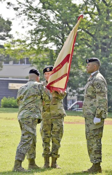 USAG RP welcomes Waterhouse as new CSM - Kaiserslautern American