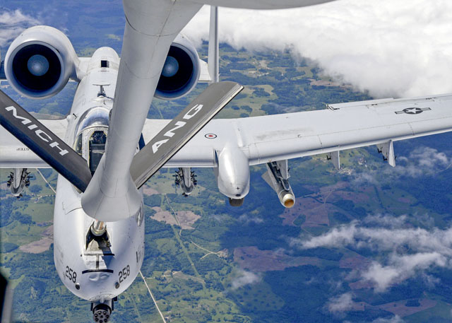 USAFE provides fuel for  the fire at Saber Strike