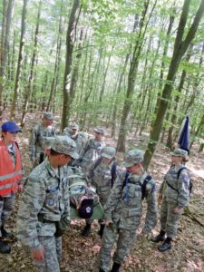 Ramstein Airmen host cadets from across Europe