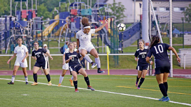 Season on the brink: Ramstein girls nipped in finals
