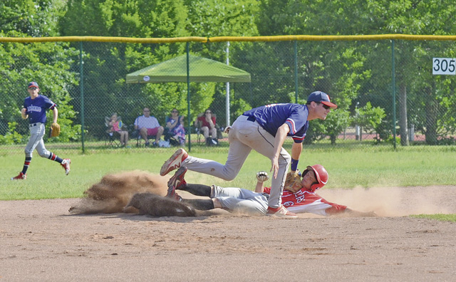 Tagged Out at End: Kaiserslautern edged by Lakenheath in final inning