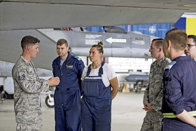 Ramstein, Aviano Airmen provide training for Romanian air force