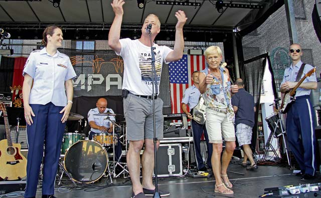 Ramstein celebrates German-American fair