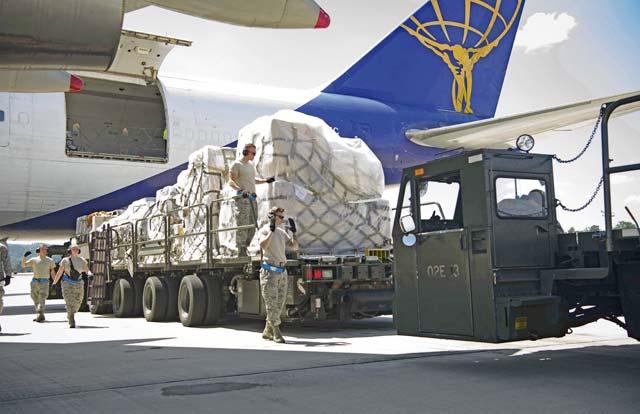 Move it: 721st APS, Ramstein's cargo, passenger hub