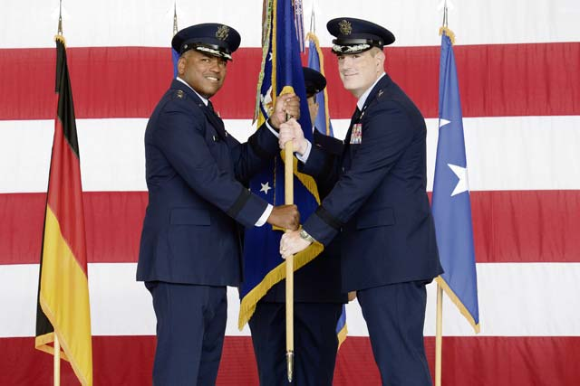 'World's best wing' welcomes new commander