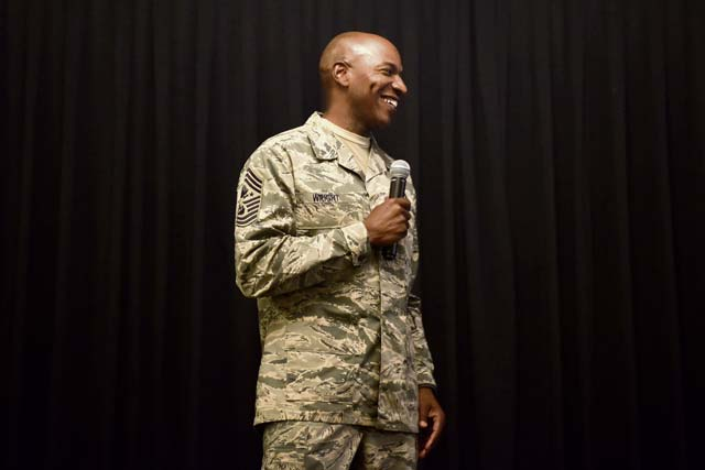 Chief Master Sergeant of the Air Force visits Ramstein