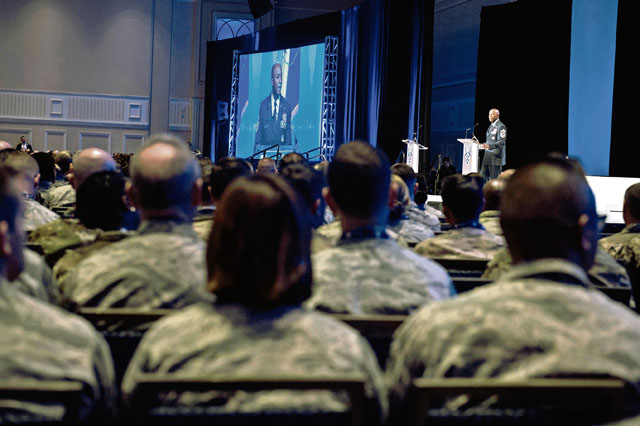CMSAF Wright: The Airmen we need must be resilient