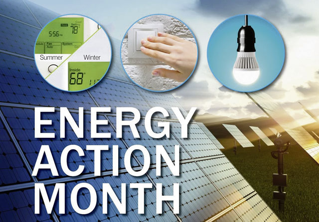 October is Energy Action Month