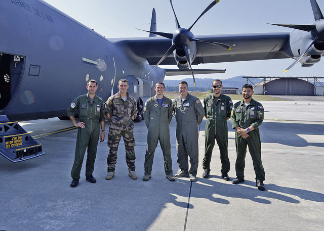 Ramstein Airmen assist French forces with Super Hercules transition