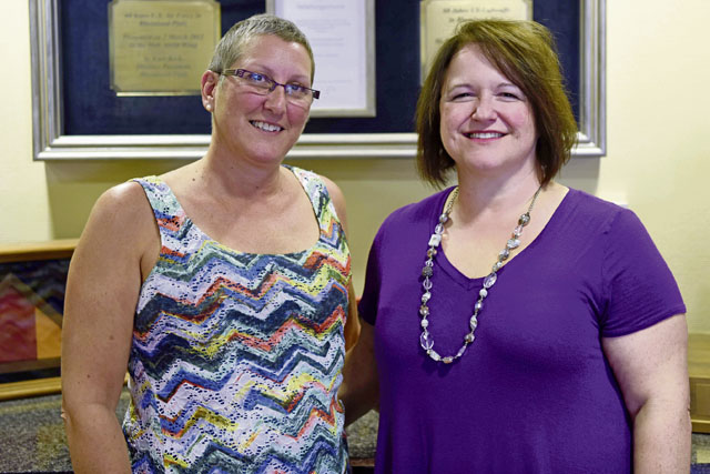 Two women, their fight against breast cancer