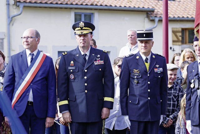 French military hosts 7th MSC for WWI commemorations