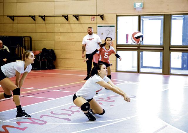 Ramstein volleyball unbeaten, KHS wins over Brussels