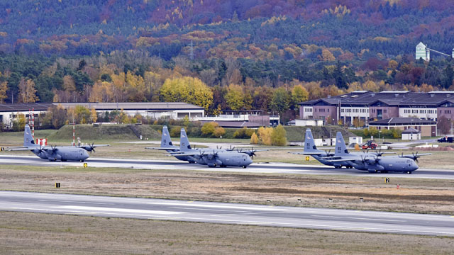 Ramstein exercise generates mass airlift capability