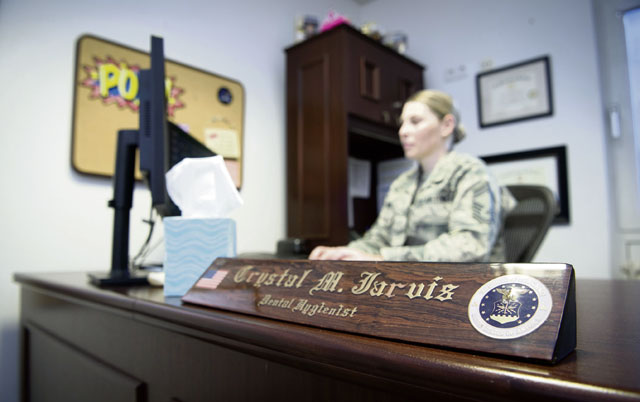 Ramstein Airman becomes first CMSgt dental hygienist