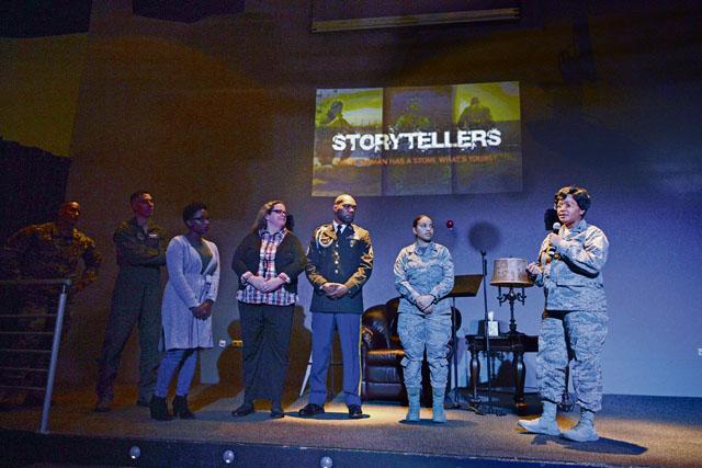 Sharing sorrow, progress through storytelling