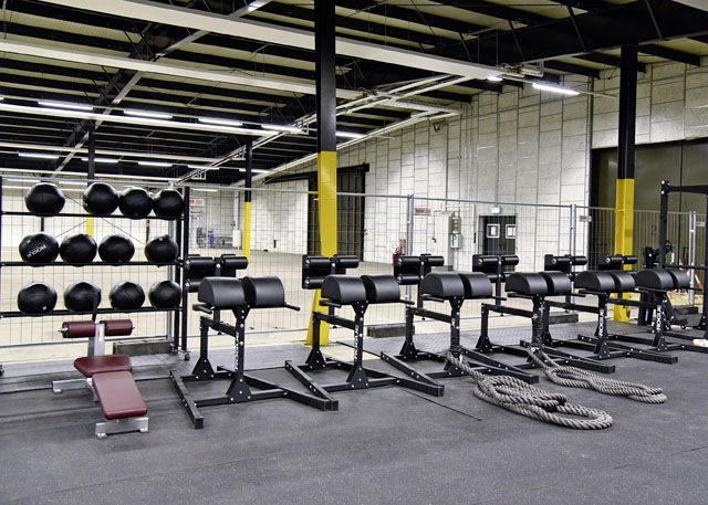 New year, new functional fitness area
